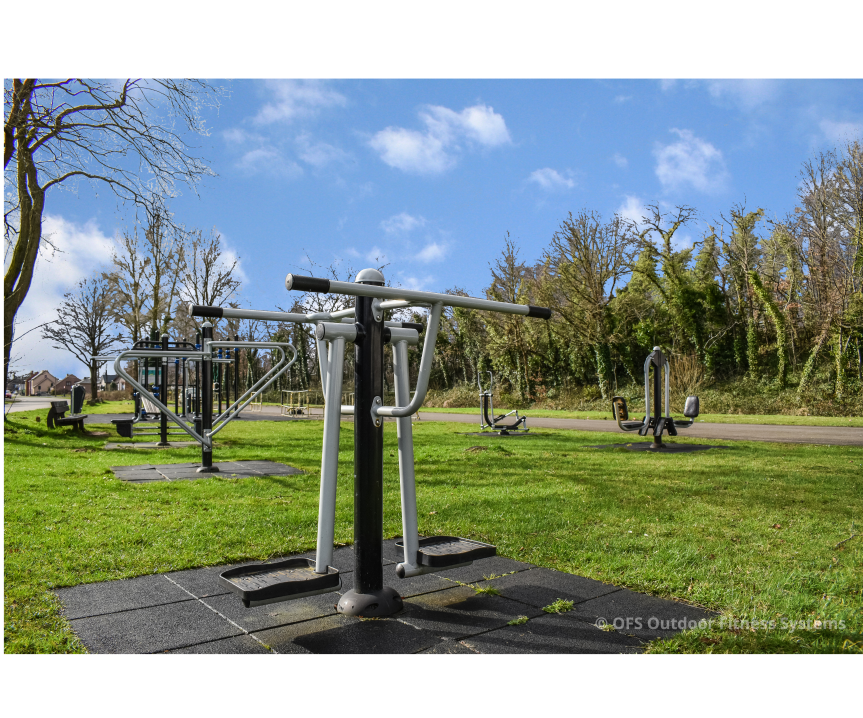 outdoor fitnesspark in gemeente of stad
