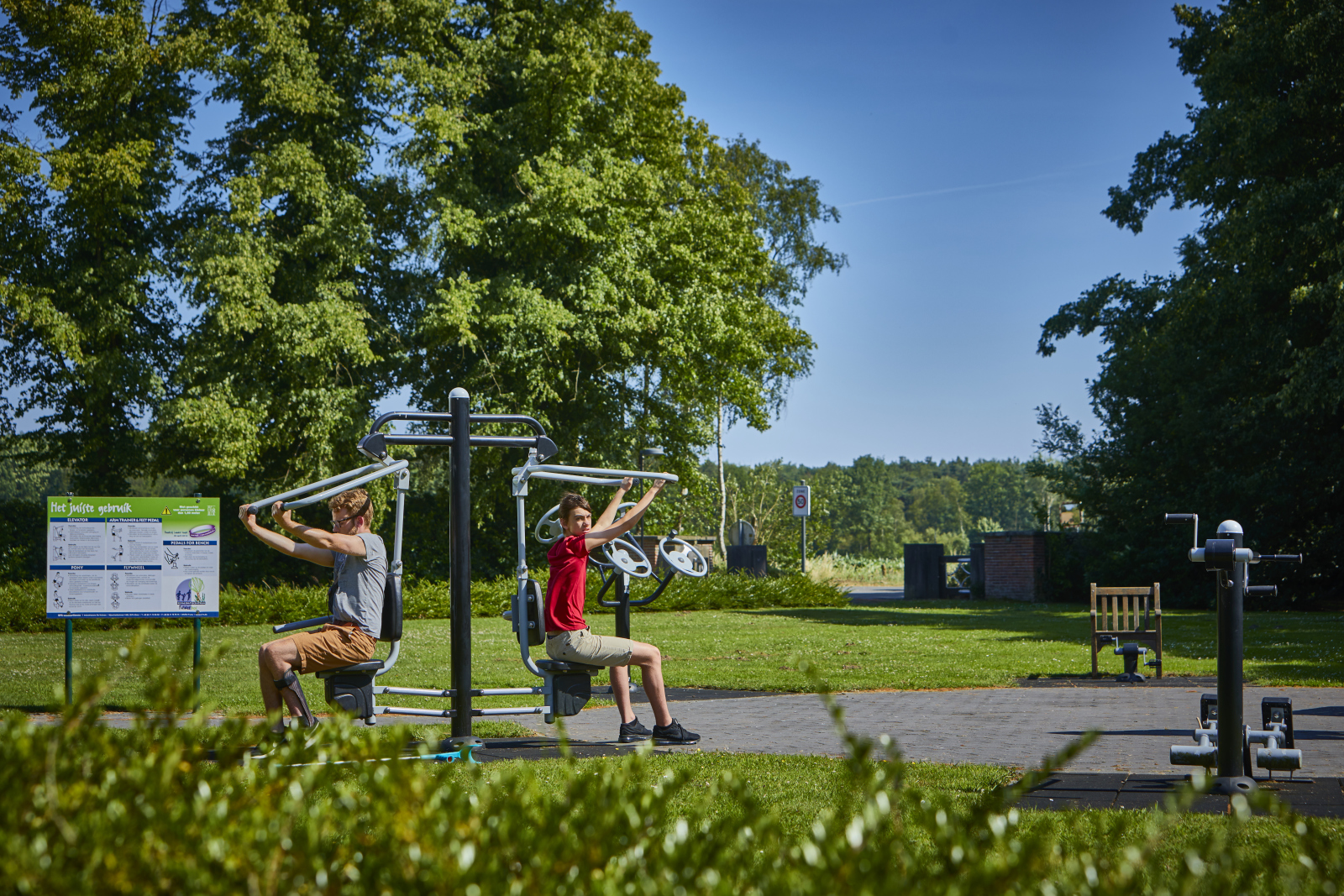 outdoor fitness sport park