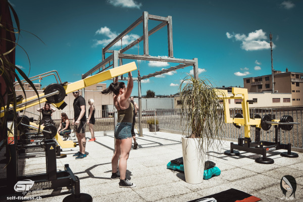 Weight serie outdoor fitness